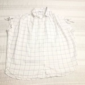 Madewell blouse size M button down